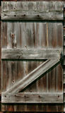 Rustic Barn Door Stock Photo