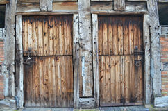 Rustic Barn Doors Royalty Free Stock Photos