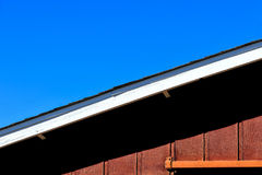 Rustic Barn Roof Royalty Free Stock Images