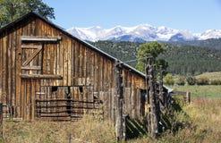 Rustic Barn Stock Photo