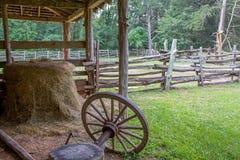 Rustic Barn Yard Royalty Free Stock Photo