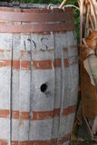 Rustic Barrel. Rusty Rustic Barrel used only for Decoration purpose now days Stock Images