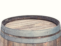Rustic Barrel Table top Royalty Free Stock Photo