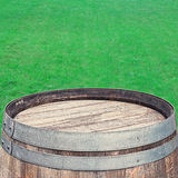 Rustic Barrel top Stock Photo