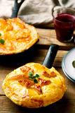 Rustic Beef Pot Pie . Royalty Free Stock Photography
