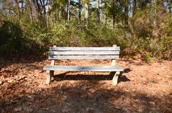 Rustic Bench Royalty Free Stock Photography