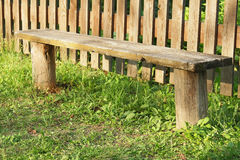 Rustic bench Royalty Free Stock Photos
