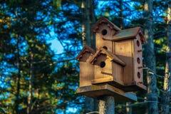 Rustic Birdhouse Stock Photo