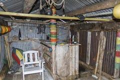 Rustic bivouac hut Royalty Free Stock Photo