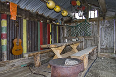 Rustic bivouac hut Royalty Free Stock Photos