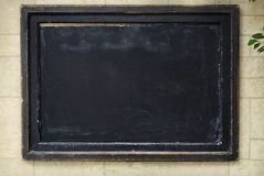 Rustic Black board, chalkboard Royalty Free Stock Images
