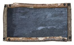Rustic blackboard Royalty Free Stock Photography