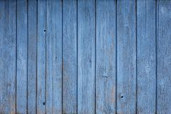 Rustic blue timber background Royalty Free Stock Images
