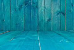 Rustic blue wood background Royalty Free Stock Photos