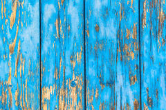 Rustic blue wooden background stock images