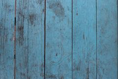 Rustic blue wooden table surface royalty free stock images