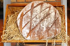 Rustic bread Royalty Free Stock Image