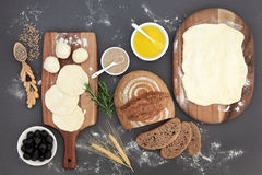 Rustic Bread Baking Royalty Free Stock Photo
