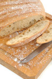 Rustic bread close up Royalty Free Stock Photos