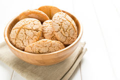 Rustic bread with rice flour Royalty Free Stock Photo