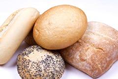 Rustic bread roles Stock Image