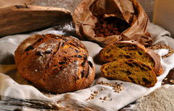 Rustic bread Royalty Free Stock Images