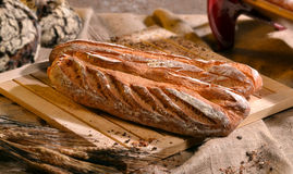 Rustic bread Stock Photos