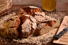 Rustic bread Royalty Free Stock Photography