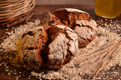 Rustic bread Royalty Free Stock Photo