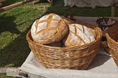 Rustic bread Royalty Free Stock Photos