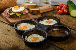Rustic breakfast Royalty Free Stock Photo