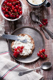 Rustic breakfast Royalty Free Stock Images