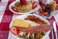 Rustic Breakfast Stock Image