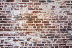 Rustic Brick Wall Background Stock Photography