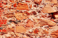 Rustic brick wall background. Stock Image