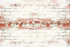 Rustic Brick wall large Stock Photography