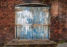 Rustic Brick Warehouse Royalty Free Stock Photos