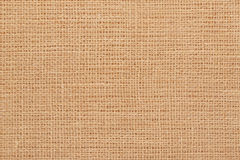 Rustic brown canvas burlap background Royalty Free Stock Image
