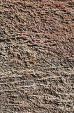 Rustic brown stone texture Stock Photography