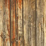 Rustic Brown Weathered Wood Plank Panel Horizontal Background stock images