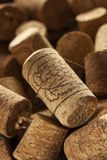 Rustic Brown Wine Corks Stock Photography
