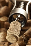 Rustic Brown Wine Corks Royalty Free Stock Image
