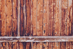 Rustic Brown Wood Background Stock Photo