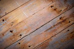 Rustic brown wood planks background royalty free stock image
