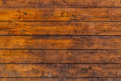 A rustic brown wood texture royalty free stock images