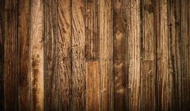 Rustic Wood Wall Panels Stock Photography
