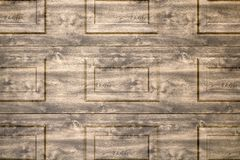 Rustic brown wooden background texture. Old vintage real natural planked wood. Free text copy space texture background. Royalty Free Stock Photos