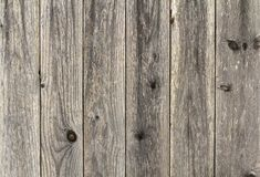 Rustic brown wooden background texture. Old vintage real natural planked wood. Free text copy space texture background. Royalty Free Stock Photography
