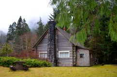 A Rustic Cabin Stock Photo