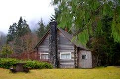 A Rustic Cabin Stock Photo